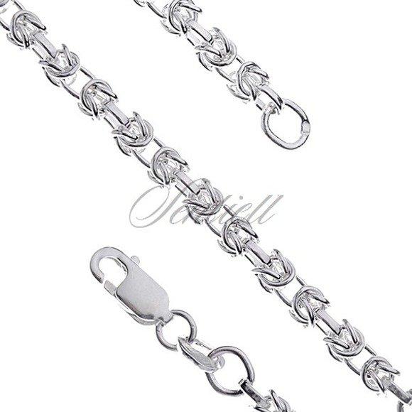 Silver (925) byzantine chain bracelet Ø 060 weight from 6,9g