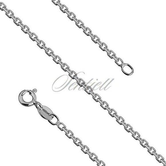 Silver (925) chain Rolo diamond cut