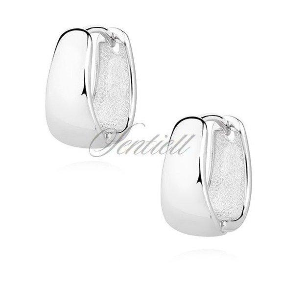 Silver (925) earrings - high polished