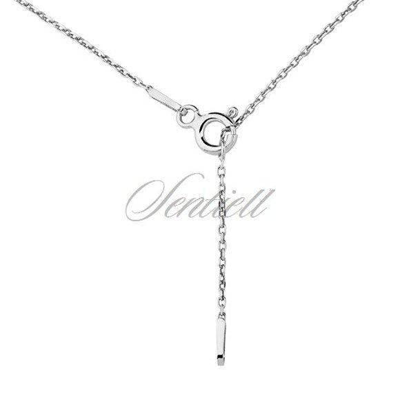 Silver (925) necklace - ballerina