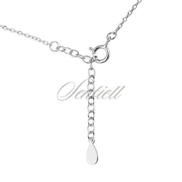 Silver (925) necklace - triangle