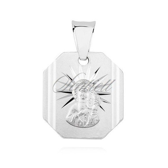 Silver (925) pendant Virgin Mary / Black Madonna