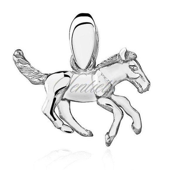 Silver (925) pendant - horse