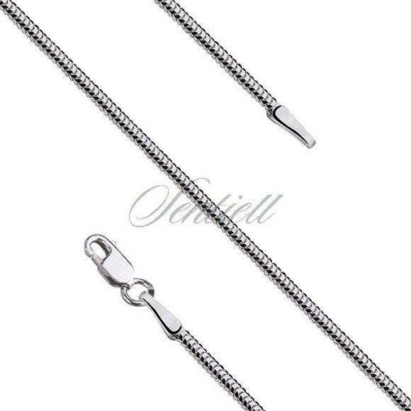 Łańcuszek srebrny linka ośmiokątna snake pr.925 Ø 0160
